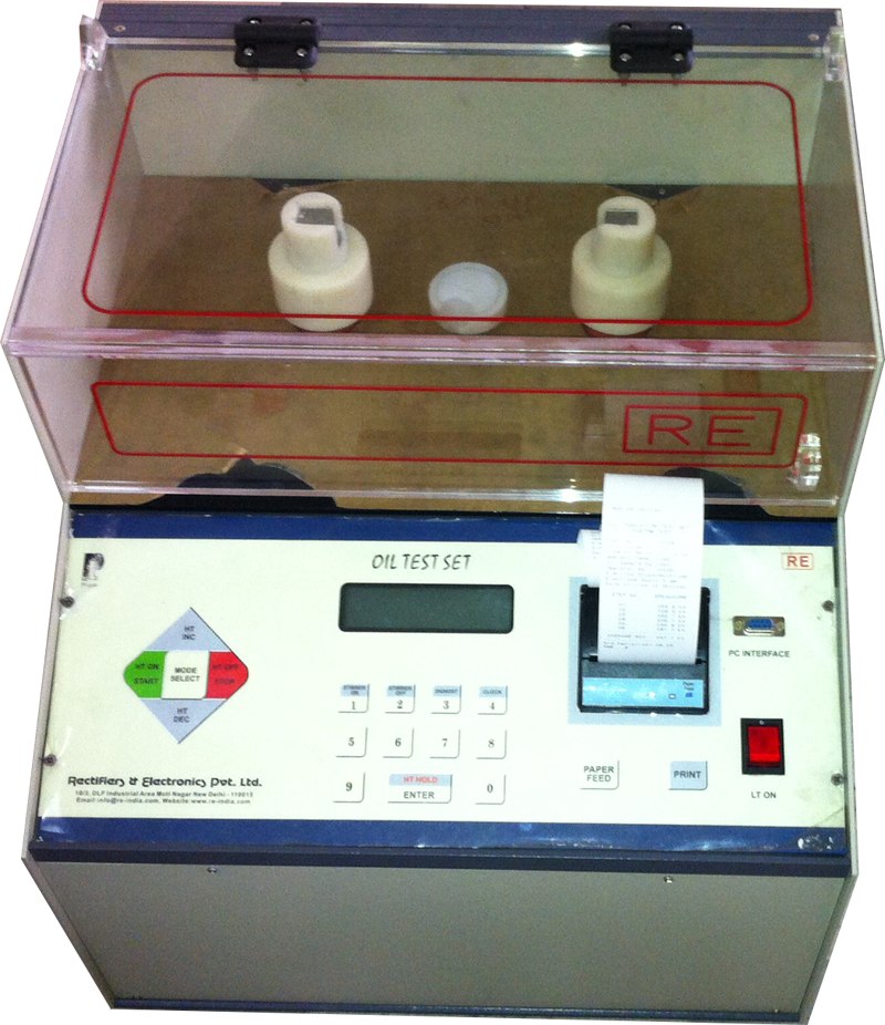 Microcontroller Based Automatic Oil Test Set