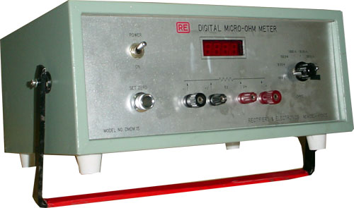 Micro Ohm Meter upto 10 Amps